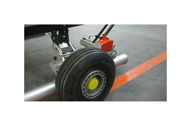 Lico ground handling wheel for Airbus Helicopter H135