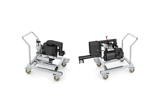 LICO Mounting Trolleys